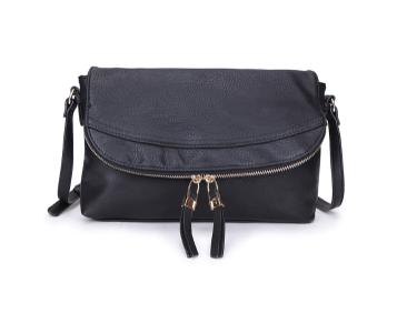5346e3a8cd86 Clutch Style Crossbody Bag - Black - Bags and Bangles